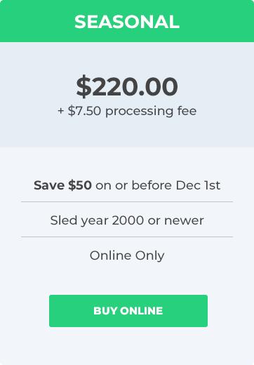 Ontario Snowmobile Permit Fees